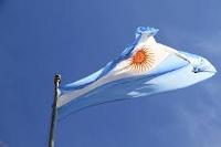 Bandera de l'Argentina.