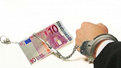 Esposado al Euro.