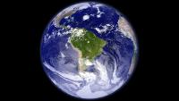 Planeta Terra, mostrant Amèrica del Sud.