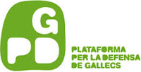 Plataforma para la defensa de Gallecs. Logotipo.